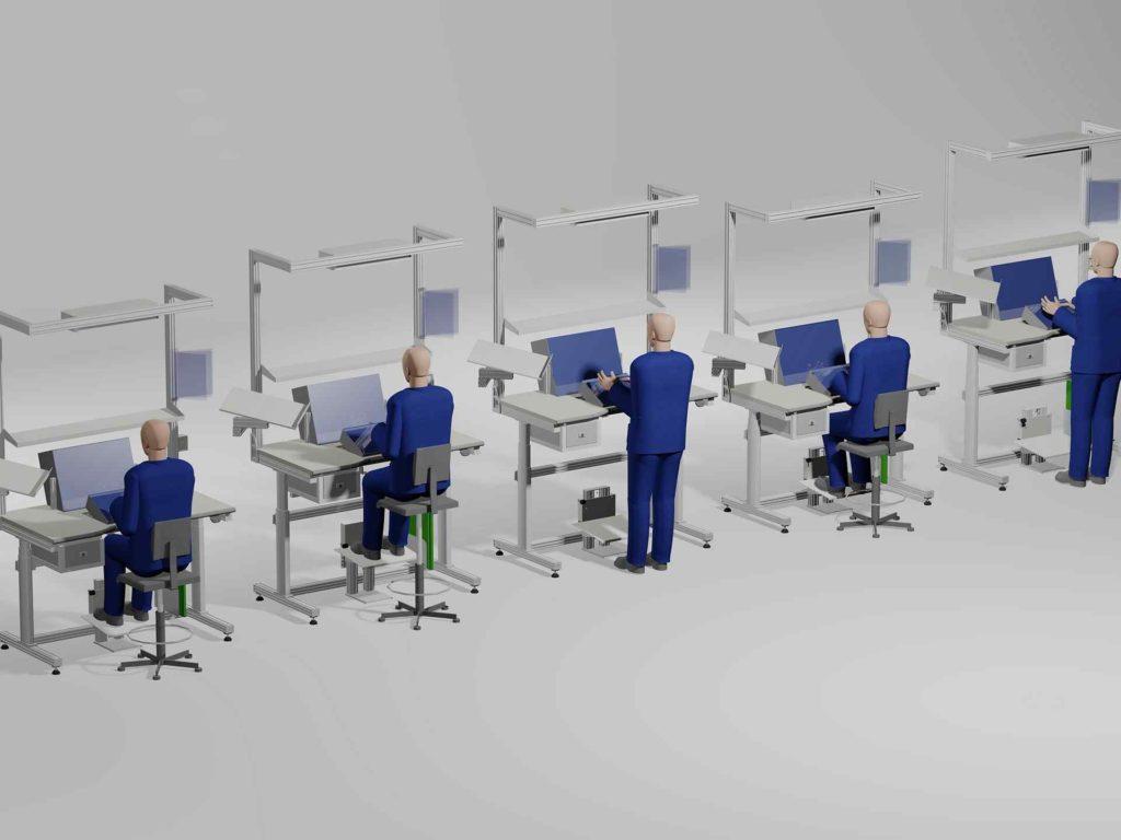 Postazione Ergonomica Per Computer postazione di lavoro ergonomica: ecco come rendere la